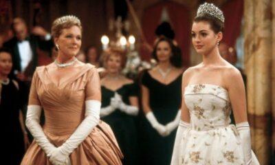 Anne Hathaway faz referência a Diário da Princesa em desafio do travesseiro