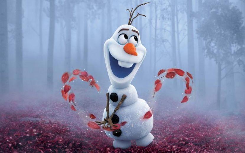 Abraços quentinhos online? Vem conhecer a nova série animada de Olaf!