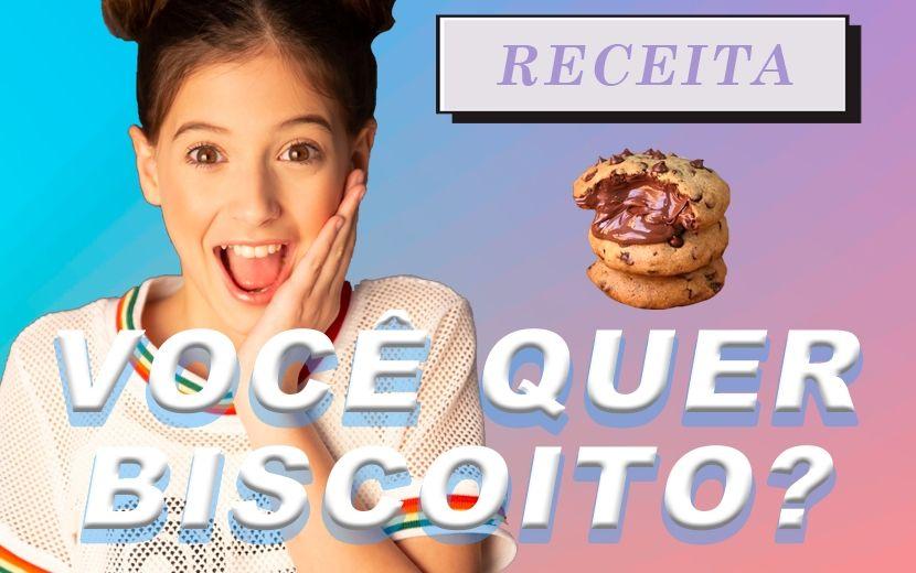 Você quer biscoito, miga? Que tal uma receita de cookie com apenas 6 ingredientes?