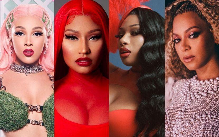 Topo da Billboard Hot 100 é dominado por artistas empoderadas