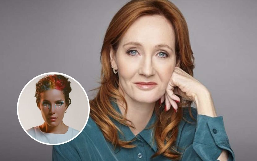 """Halsey se revolta com comentário de J.K. Rowling e rebate: """"Invalida pessoas trans"""""""