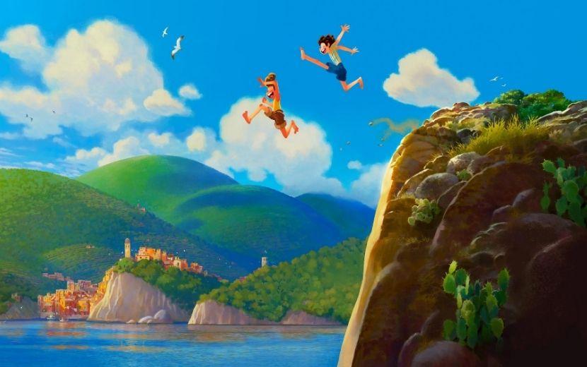 """Conheça """"LUCA"""", nova animação da Pixar em Riviera Italiana"""