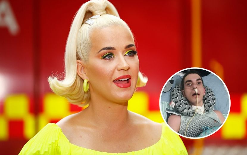 """Fã de Katy Perry vítima de homofobia é notado pela cantora: """"Sua força me faz sorrir"""""""