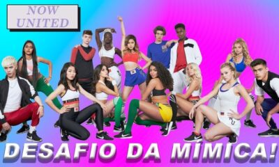 Desafiamos o Now United no jogo da mímica!