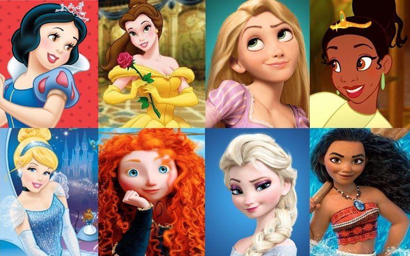 Com qual princesa da Disney você mais se parece?