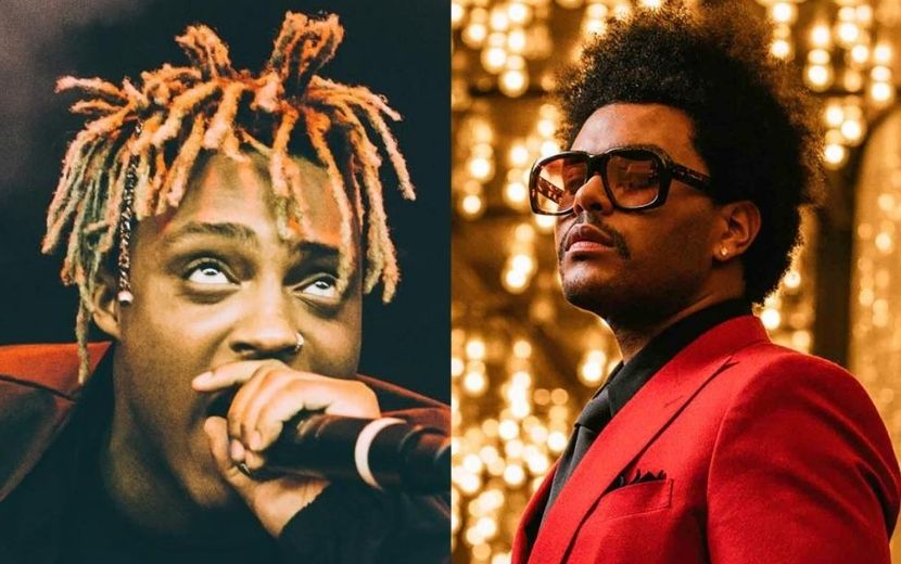 """Smile"": The Weeknd lança música póstuma com o rapper Juice WRLD"