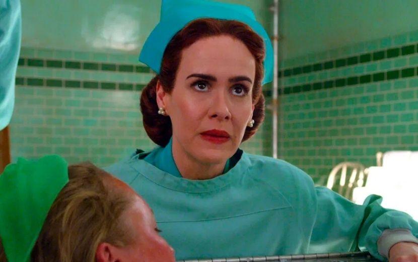 """""""Ratched"""": Sarah Paulson vive enfermeira diabólica em trailer da nova série da Netflix"""