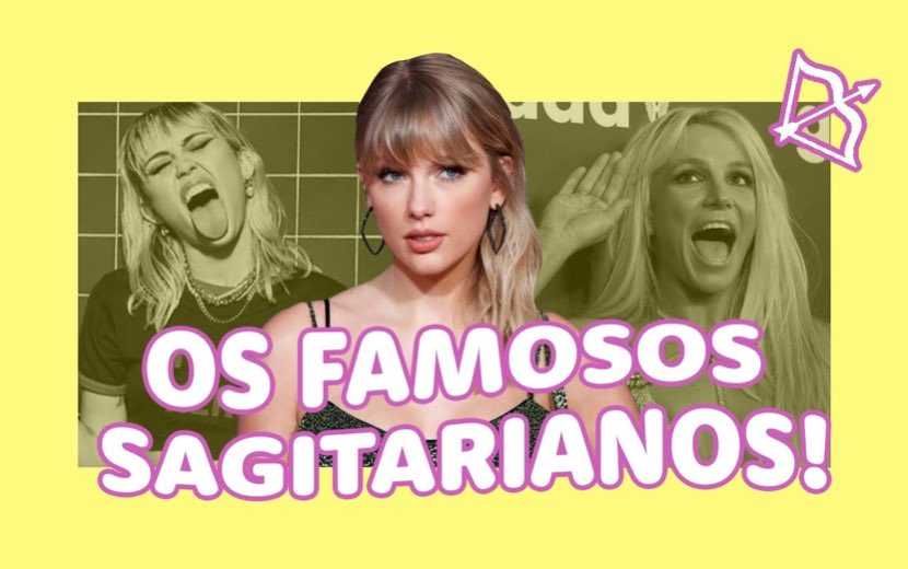 Taylor Swift, Miley Cyrus e mais: os famosos do signo de Sagitário
