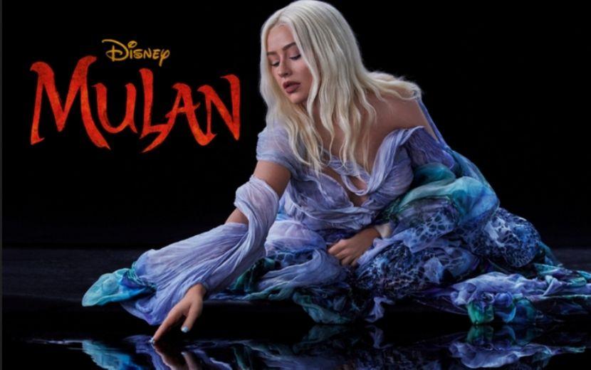 "Christina Aguilera comenta experiência de regravar ""Reflection"" para o live-action de ""Mulan"""