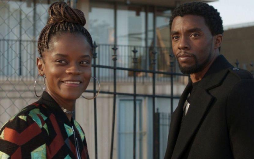 """Letitia Wright, a Shuri de """"Pantera Negra"""", presta homenagem tocante a Chadwick Boseman: """"Você está eternamente em meu coração"""""""
