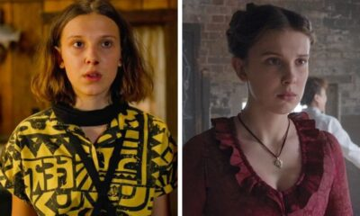 "Millie Bobby Brown revela o que guardou do set de ""Stranger Things"" e ""Enola Holmes"""