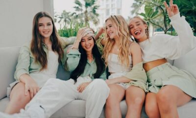 "Meninas do Now United curtem Dubai no clipe de ""The Weekend's Here"""