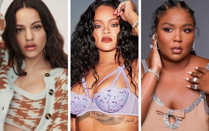 """Rihanna, Lizzo e Rosalía estão maravilhosas em teaser do """"Savage X Fenty Show Vol. 2"""""""