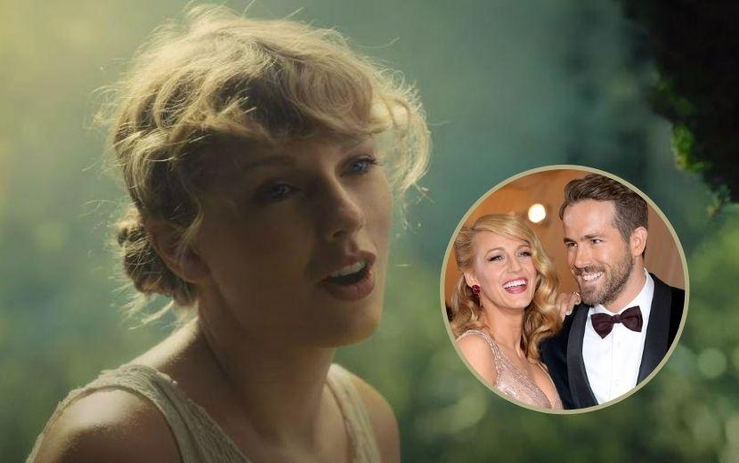 "Taylor Swift reage à ideia de filme sobre ""The Last Great American Dynasty"" com Blake Lively e Ryan Reynolds"