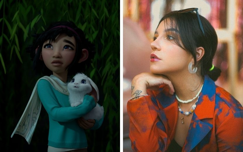 """Priscilla Alcântara estará em trilha sonora de """"A Caminho Da Lua"""", animação da Netflix"""