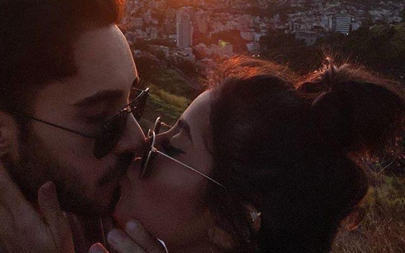 Diogo Melim assume namoro com influenciadora digital