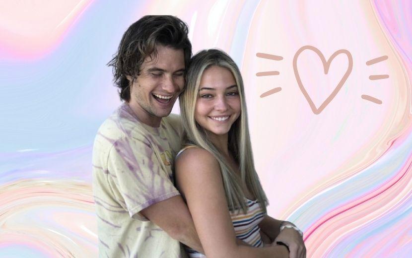 """Chase Stokes e Madelyn Cline vivem romance de verão em clipe de """"Hot Stuff"""", remix de Donna Summer por Kygo"""