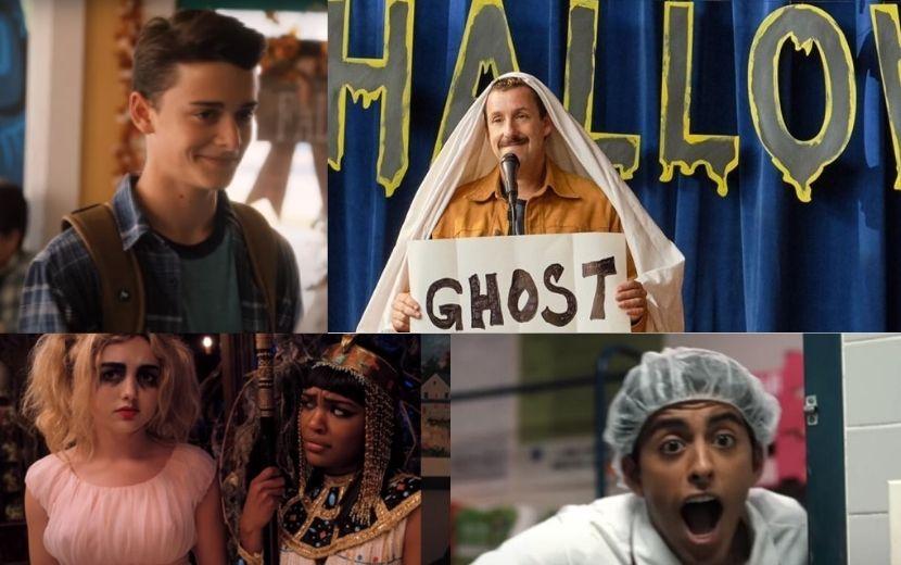"""""""Halloween do Hubie"""": lançamento da Netflix reúne Noah Schnapp, Adam Sandler e estrelas da Disney"""