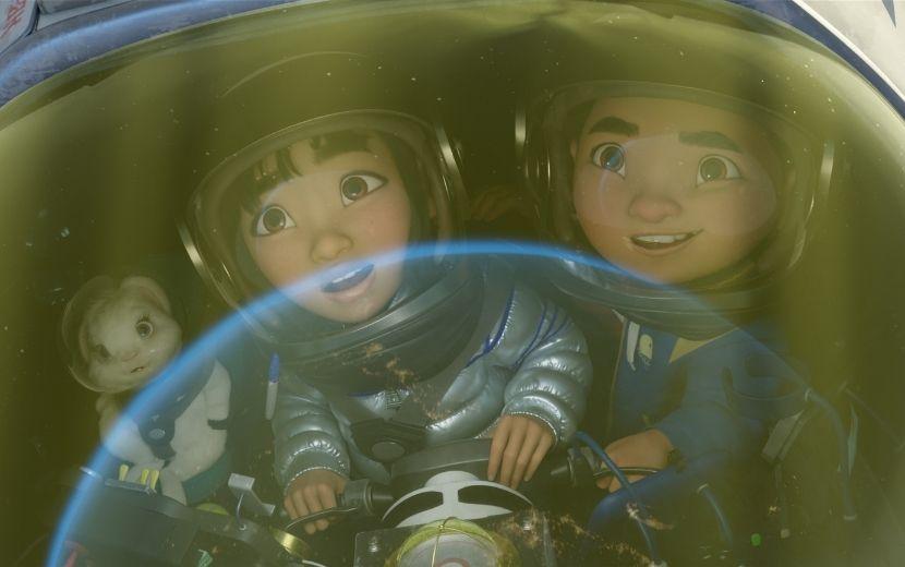 """""""A Caminho da Lua"""": animação Netflix baseada em conto chinês ganha trailer oficial"""