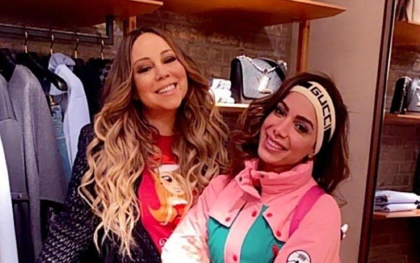 """Anitta diz que sua maior inspiração do pop é Mariah Carey: """"Ídolo número 1"""""""