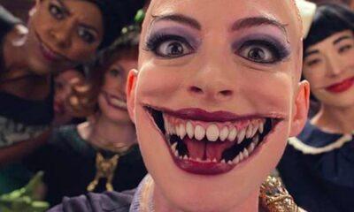 """""""Convenção das Bruxas"""": Anne Hathaway choca a internet em vídeo dos bastidores do filme!"""