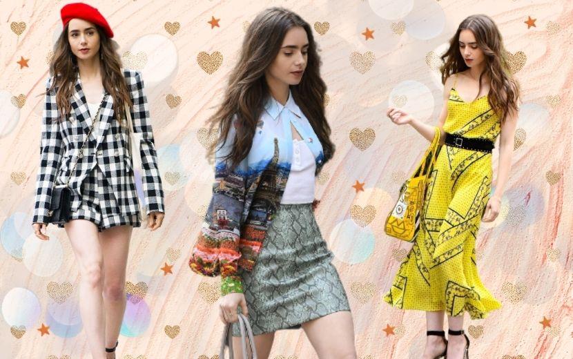 """""""Emily em Paris"""": confira os looks mais estilosos da série"""