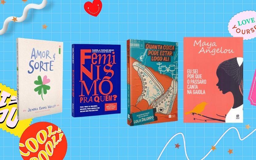 Cantinho Literário Todateen: indicações de livros para o mês de novembro