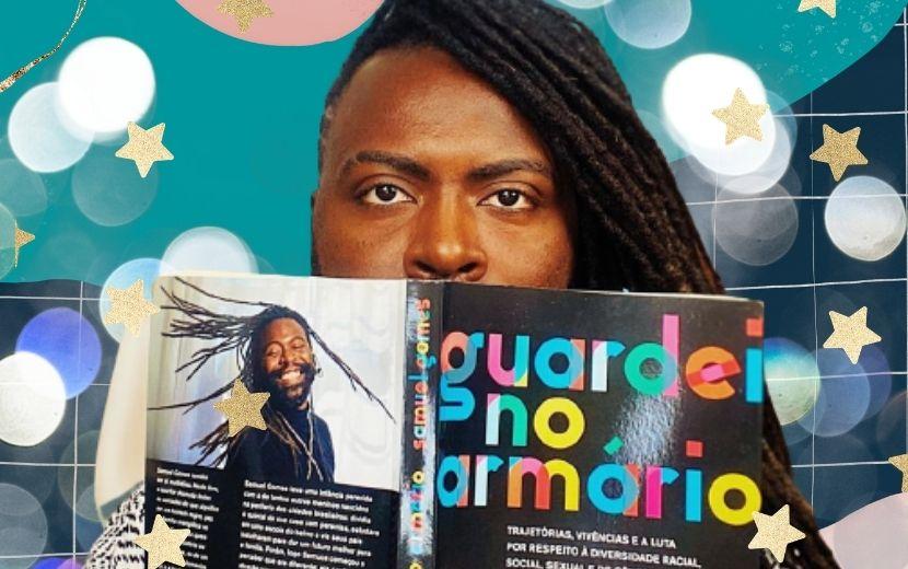 """Gay, negro e periférico: Samuel Gomes fala sobre seu novo livro, """"Guardei No Armário"""""""