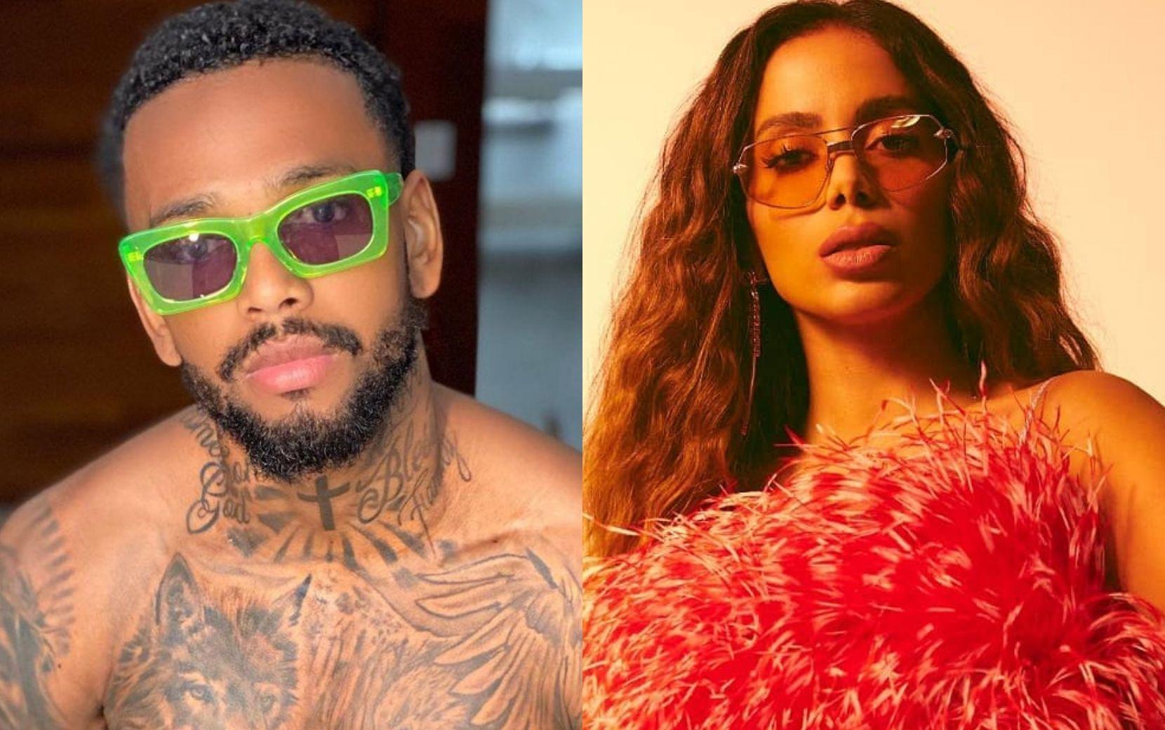 Noivo, Nego do Borel sensualiza com Anitta e é detonado na web; artistas se pronunciam!