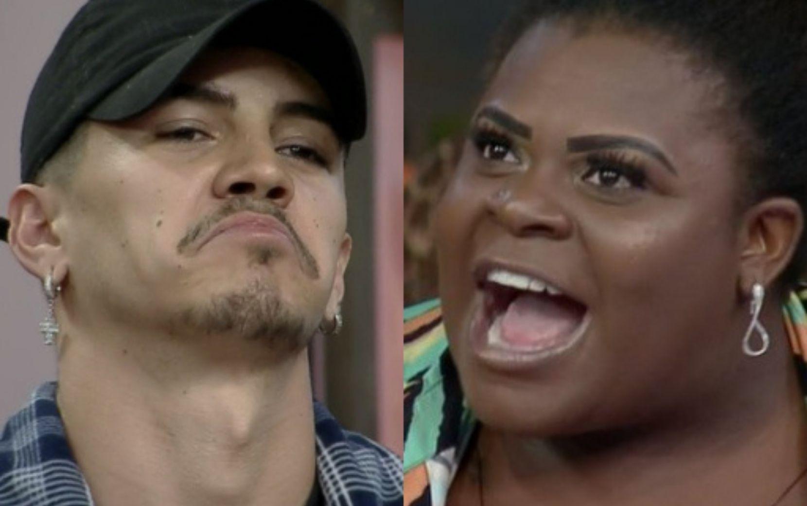 """A Fazenda 12: Jojo Todynhho e Biel trocam farpas em discussão sobre racismo e cantor leva pisão: """"Precisa estudar!"""""""