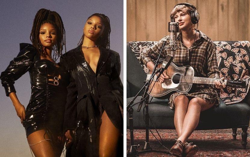 Revista Time elege 10 melhores álbuns do ano, Taylor Swift e Chloe x Halle estão no topo da lista!