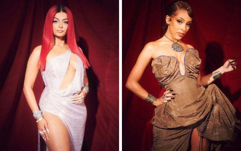"AMAs: Bebe Rexha e Doja Cat brilham em performance de ""Baby, I'm Jealous"""