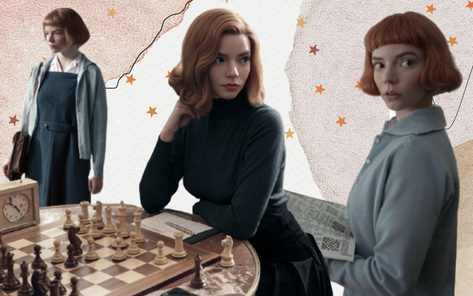 """O significado por trás dos looks mais fashionistas da nova série da Netflix, """"O Gambito da Rainha"""""""