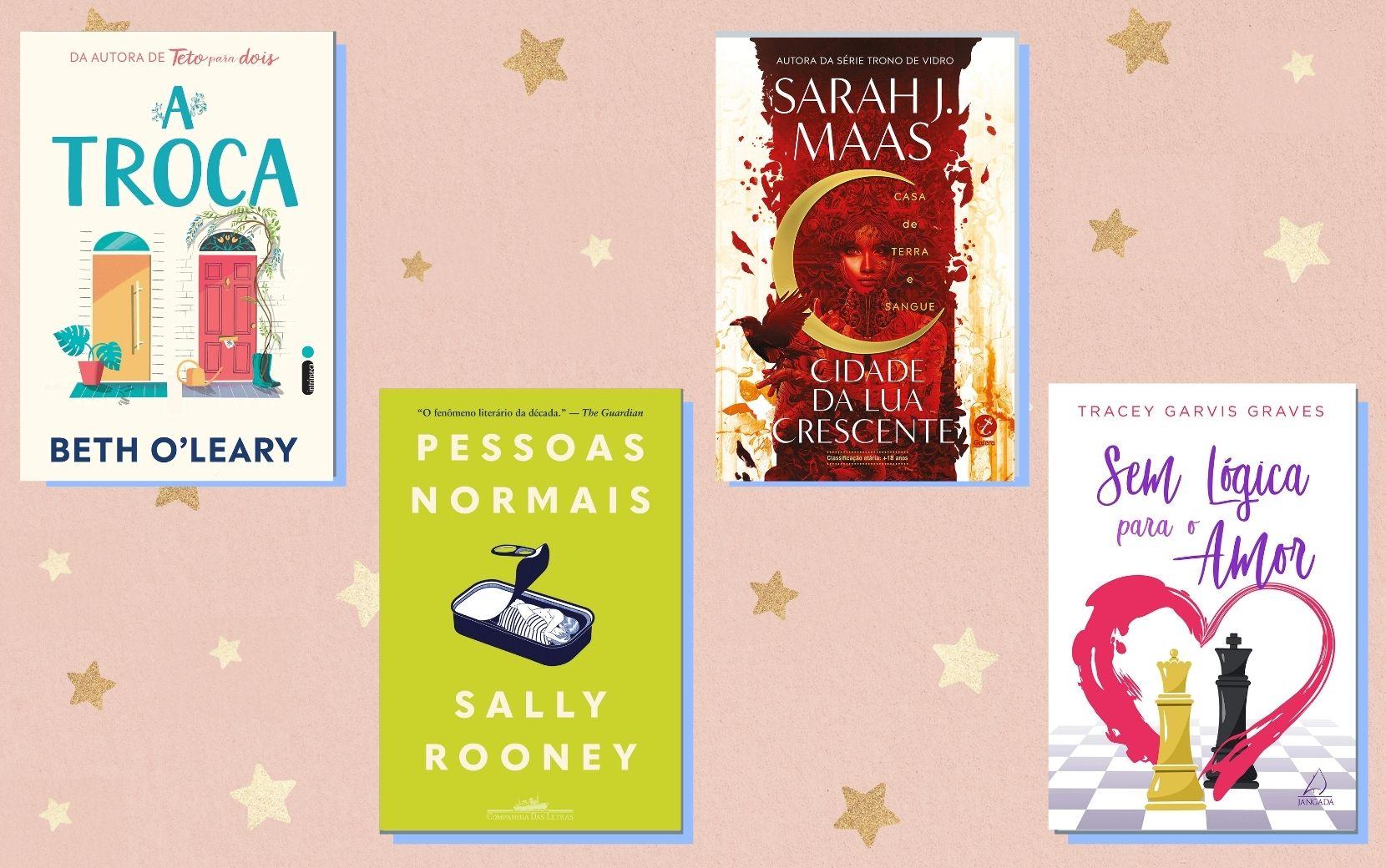 Cantinho Literário Todateen: indicações de livros para o mês de dezembro