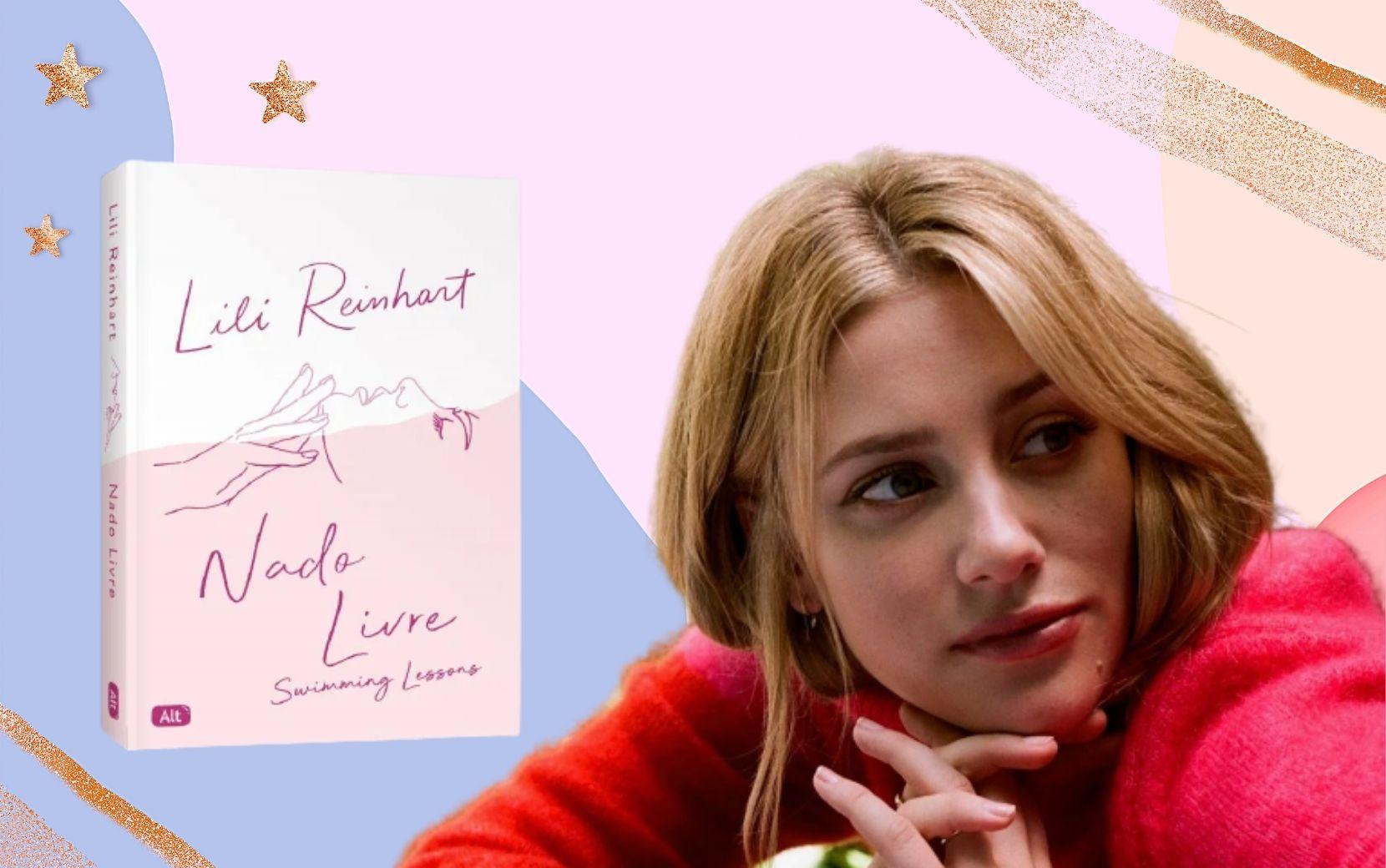 """""""Nado Livre"""": tudo sobre o novo livro de Lili Reinhart, atriz de """"Riverdale"""""""