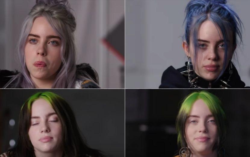 Billie Eilish dá a mesma entrevista por 4 anos e relembra tudo o que conquistou em vídeo emocionante