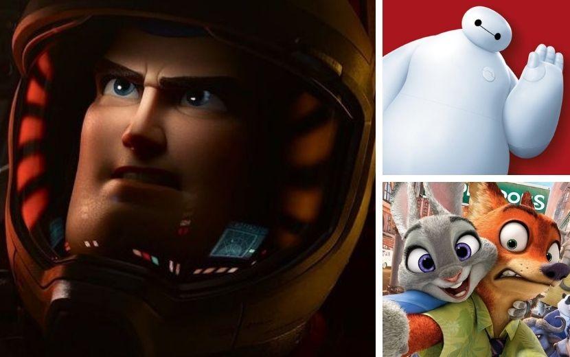 """Pixar anuncia filme de """"Buzz Lightyear"""", com Chris Evans, séries para """"Operação Big Hero"""", """"Up! Altas Aventuras"""" e """"Zootopia"""""""