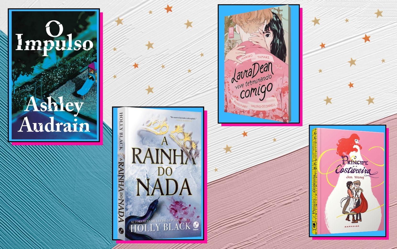 Cantinho Literário Todateen: indicações de livros para o mês de janeiro