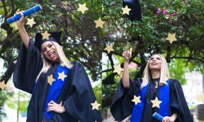 """Lexa se forma na faculdade e deixa mensagem inspiradora: """"A educação é o caminho"""""""