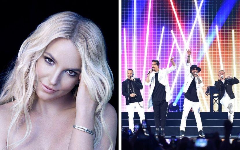 Ícones dos anos 2000: Britney Spears e Backstreet Boys lançam música juntos