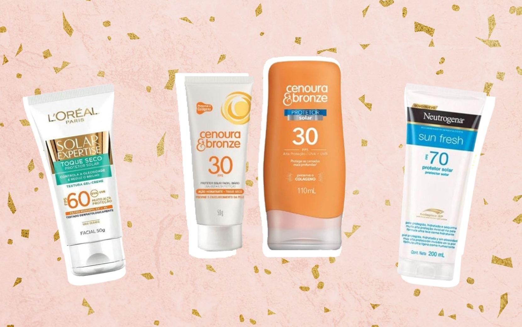 7 protetores solares para cuidar da pele neste verão