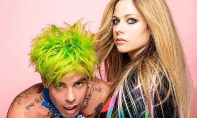 """""""Flames"""": Avril Lavigne lança nova música em parceria com MOD SUN"""