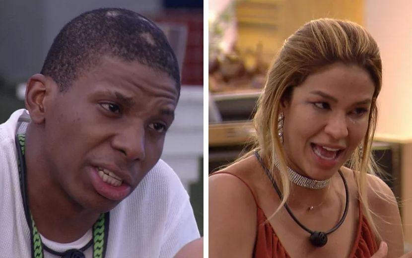 BBB21: primeira festa do reality rende discussão entre Lucas Penteado e Kerline