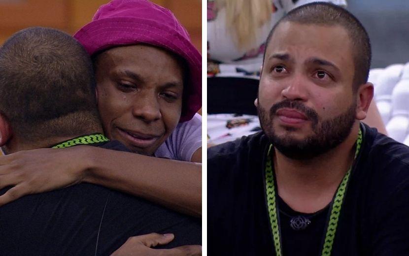 """BBB21: Lucas Penteado faz declaração emocionante para Projota: """"Você salvou a minha vida"""""""