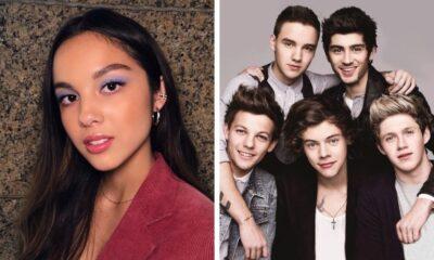 """Olivia Rodrigo diz que escrevia fanfic sobre o One Direction: """"Era a maior fã"""""""