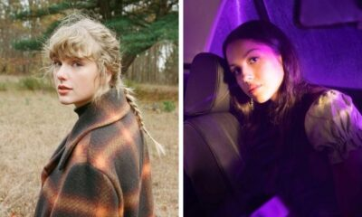 "Taylor Swift demonstra apoio à Olivia Rodrigo com sucesso de ""drivers license"""