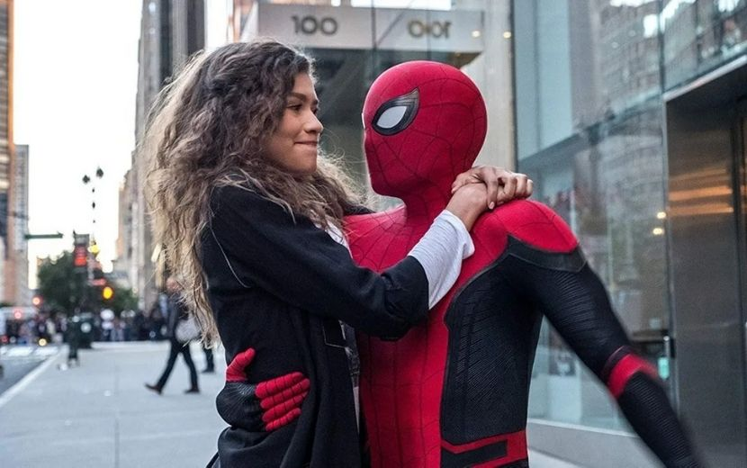 Tom Holland e Zendaya são vistos nas gravações de Homem-Aranha 3 pela primeira vez