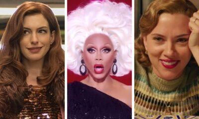 """Anne Hathaway e Scarlett Johansson farão participações especiais na 13ª temporada de """"RuPaul's Drag Race"""""""