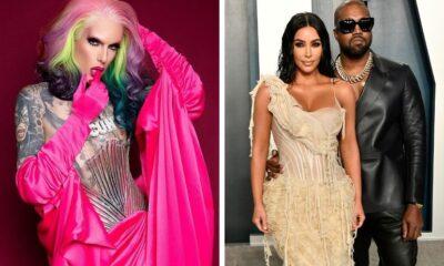 """Jeffree Star comenta boatos de affair com Kanye West: """"Alguma garota inventou uma mentira no TikTok e viralizou"""""""