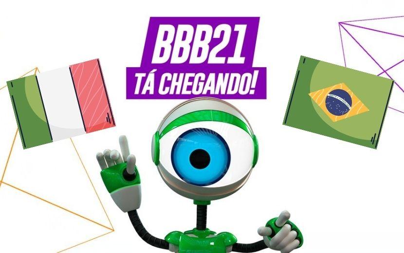 """Internautas italianos ameaçam """"sabotar"""" BBB21 e brasileiros respondem - entenda!"""